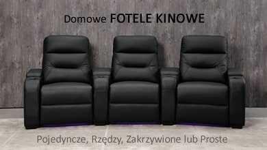 Luksusowe Fotele Kinowe